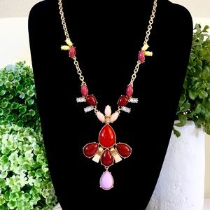 LEE ANGEL for NEIMAN Marcus long Cabochon necklace